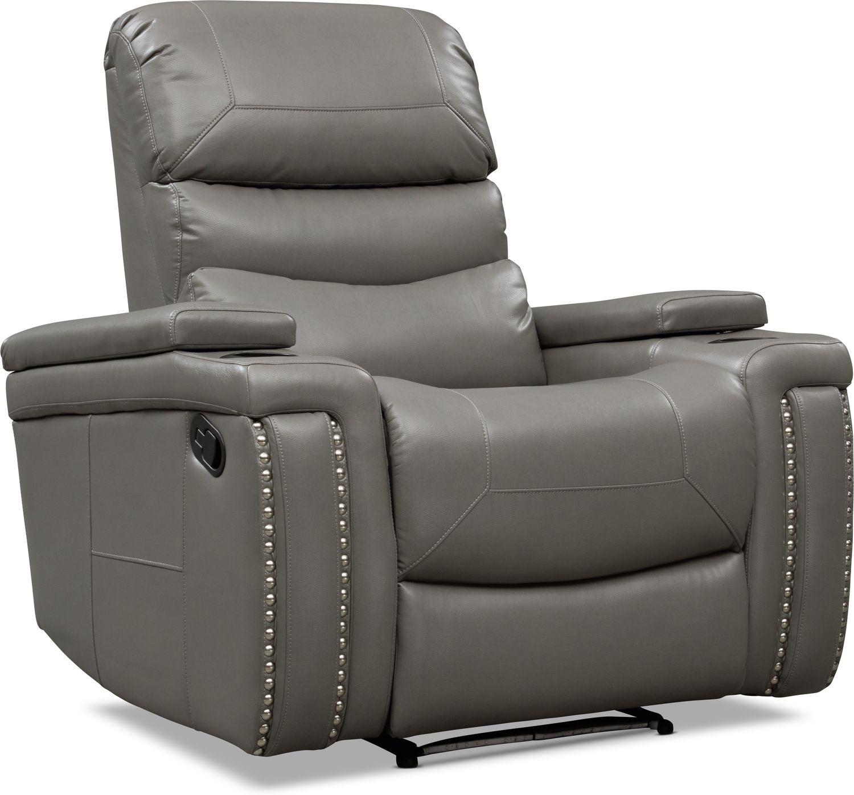 Living Room Furniture - Jackson Manual Recliner