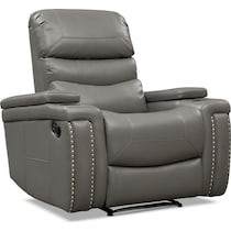 jackson gray manual recliner