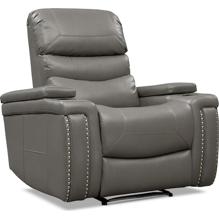 Jackson Triple-Power Recliner - Gray