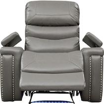 jackson gray power recliner