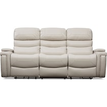 jackson white  pc manual reclining living room