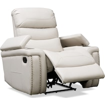jackson white manual recliner
