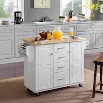 jake white kitchen cart
