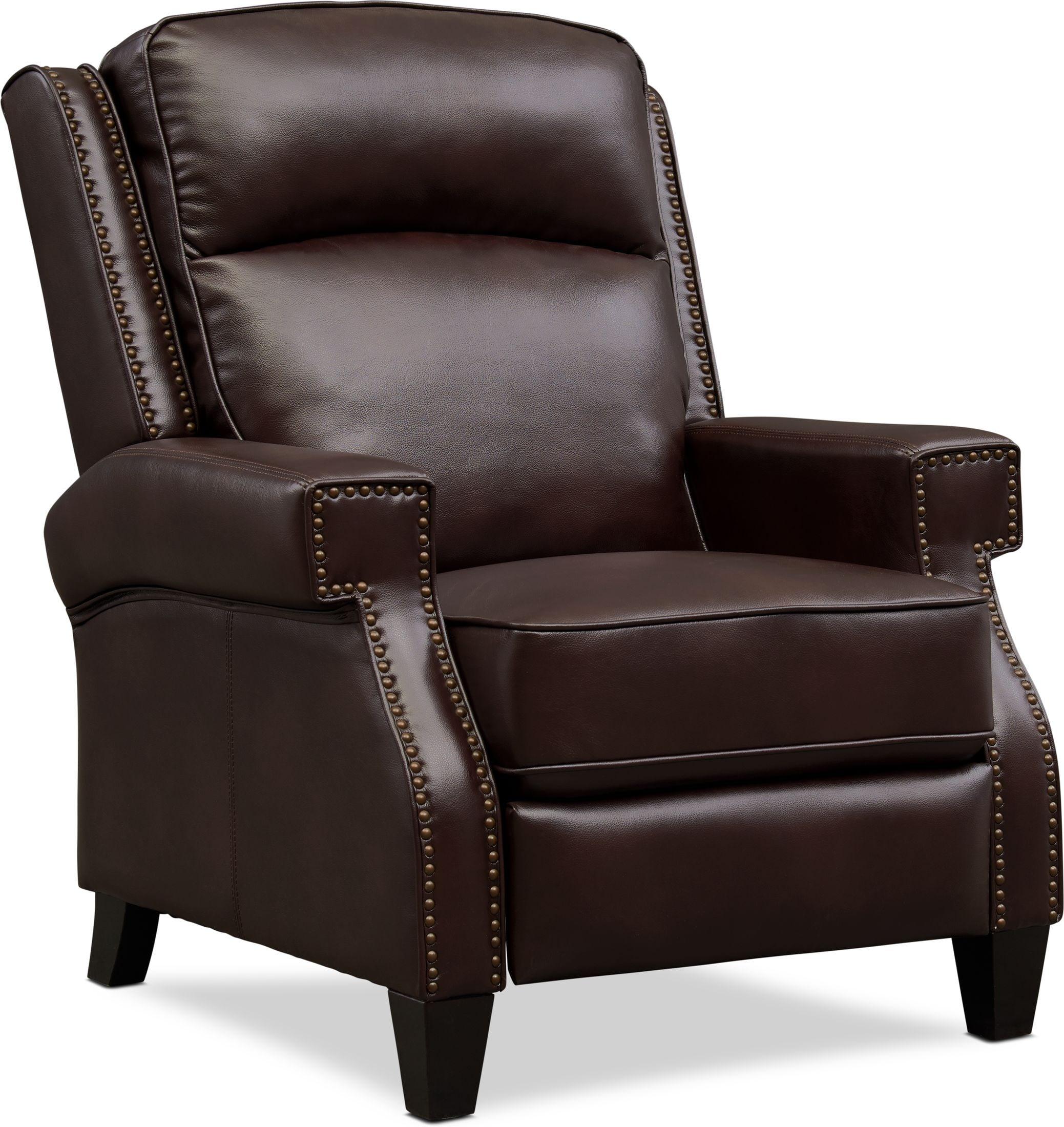 Living Room Furniture - James Pushback Recliner