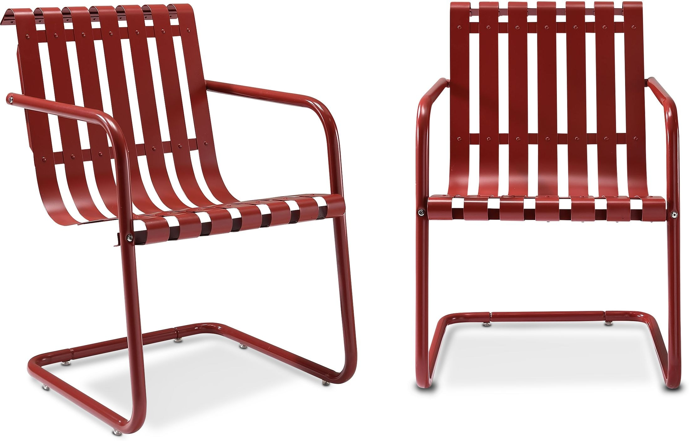 Outdoor Furniture - Janie Set of 2 Outdoor Chairs