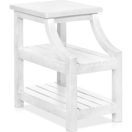 Jarrett Side Table - White