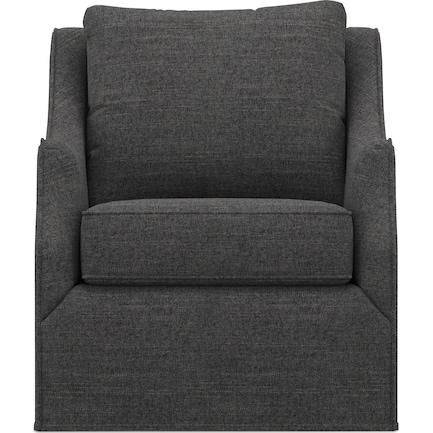 Jasper Swivel Chair - Curious Charcoal