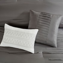 jaycee gray full queen bedding set