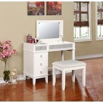 jenna white vanity desk