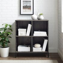 jerry dark brown bookcase