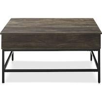 kaplan dark brown coffee table