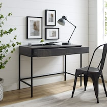 kaplan dark brown desk