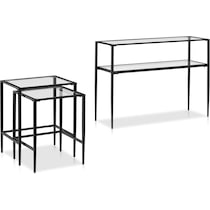 keen black nesting tables