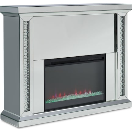 Krystal LED Fireplace