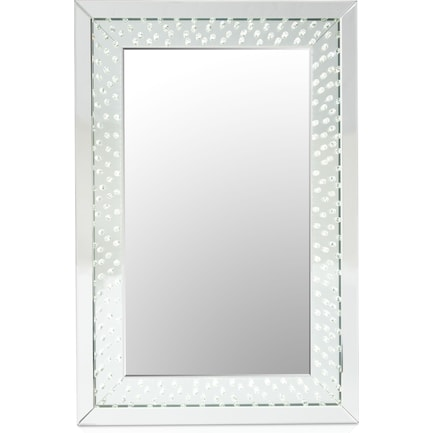 Krystal LED Wall Mirror