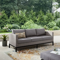 laguna gray outdoor sofa