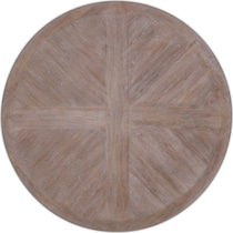 lancaster dark brown round dining table