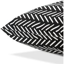 lani black outdoor pillow