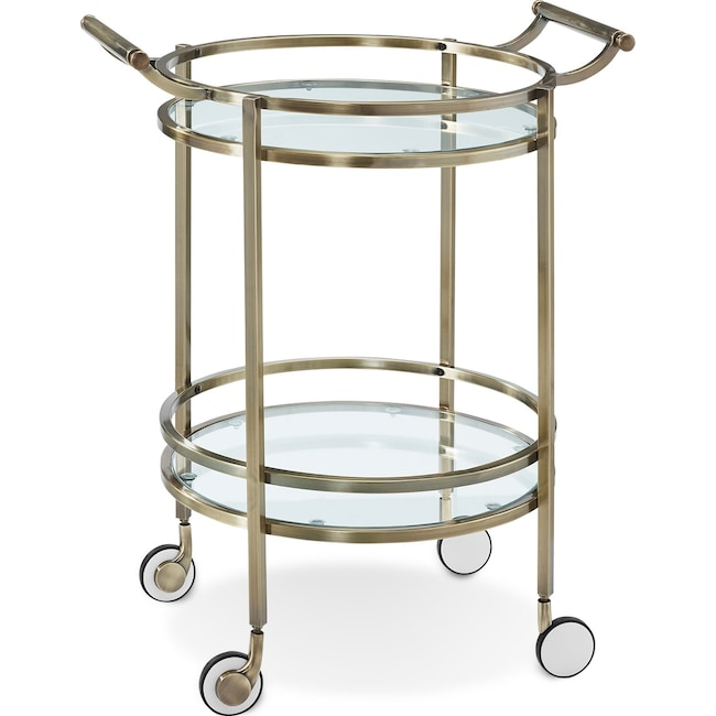 Accent and Occasional Furniture - Layne Serving Cart