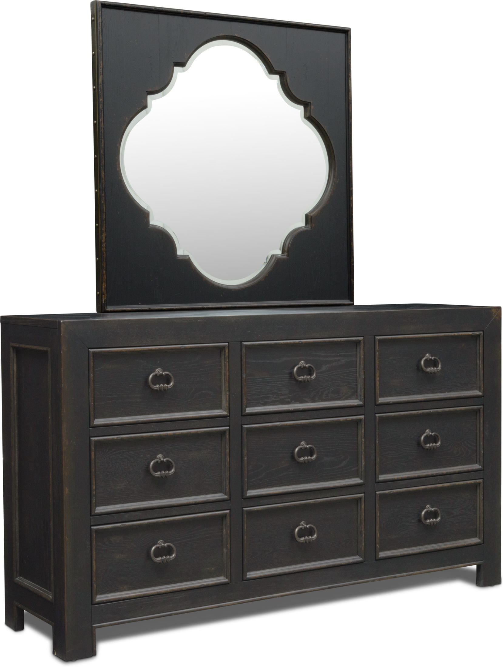 Bedroom Furniture - Lennon Dresser and Mirror