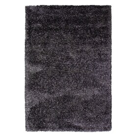 Lifestyle Shag 5' x 8' Area Rug - Charcoal