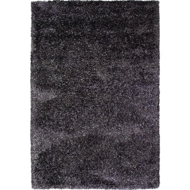 Rugs - Lifestyle Shag 5' x 8' Area Rug - Charcoal