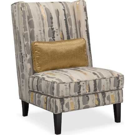 Limelight Accent Chair- Pewter