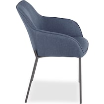 liv blue dining chair