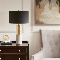 lodi black and gold table lamp