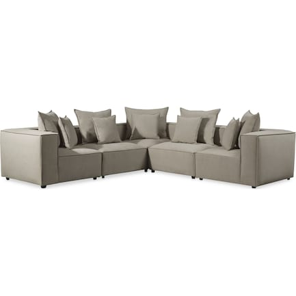 Logan 5-Piece Sectional