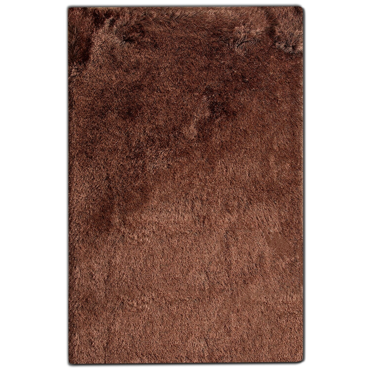 Rugs - Luxe 8' x 10' Area Rug - Chocolate