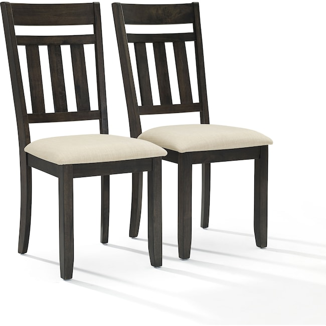 Dining Room Furniture - Lynn Set of 2 Dining Chairs