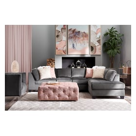 Mackenzie 2-Piece Sectional with Chaise and Ottoman