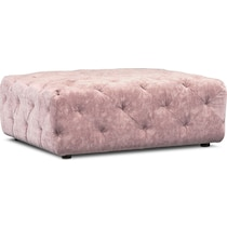 mackenzie pink ottoman