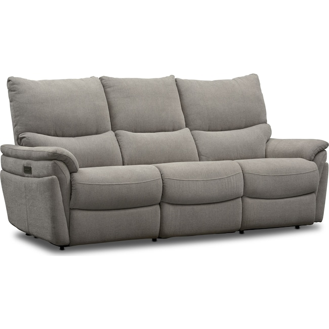 Living Room Furniture - Maddox 2-Piece Triple-Power Reclining Sofa