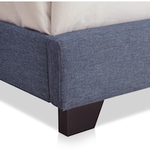 maeve blue queen upholstered bed