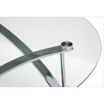 mako silver coffee table