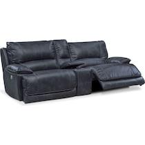 mario power blue  pc power reclining sofa