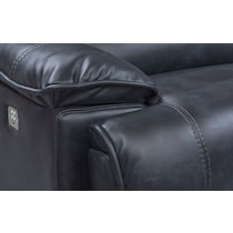 mario power blue power reclining sectional