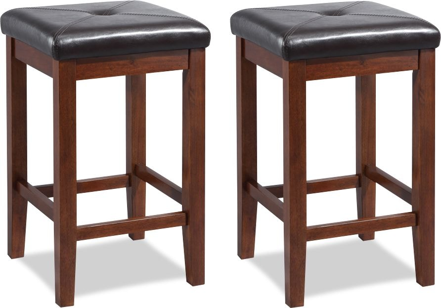 Dining Room Furniture - Marisol Set of 2 Bar Stools