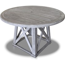 marshall gray outdoor dining table