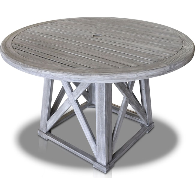 Outdoor Furniture - Marshall Outdoor Round Dining Table
