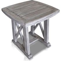 marshall gray outdoor end table