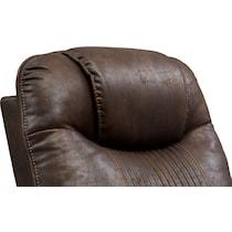 maverick dark brown power recliner