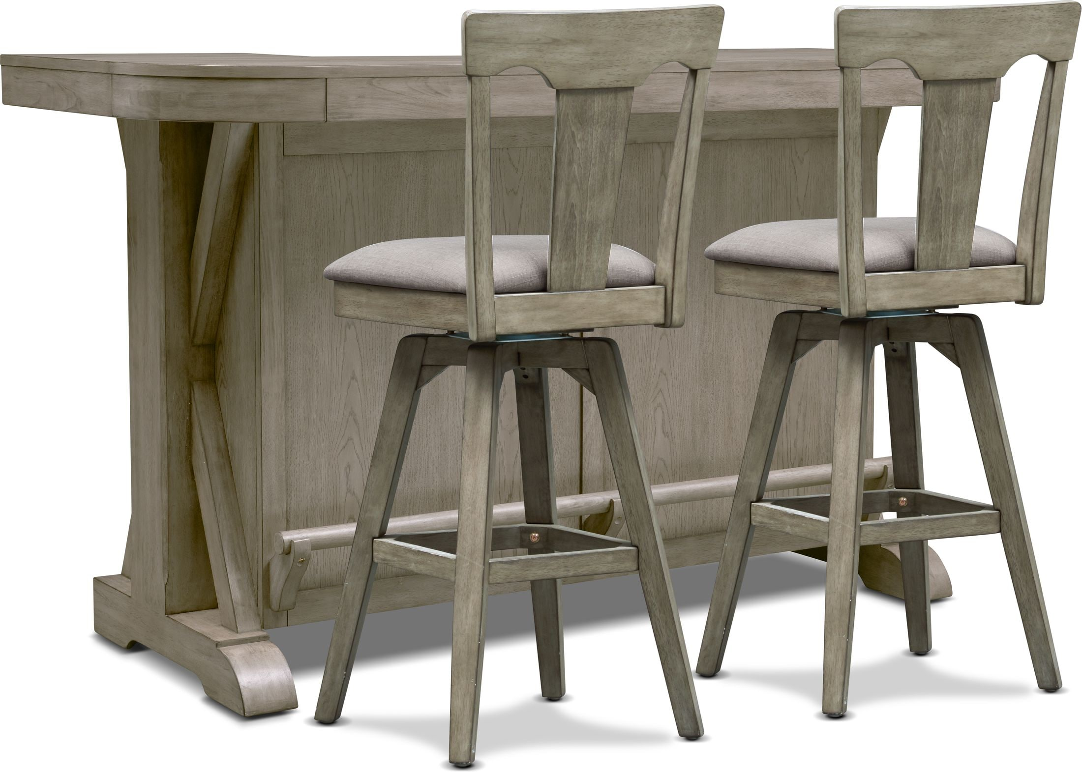 Dining Room Furniture - Maxton Bar and 2 Stools