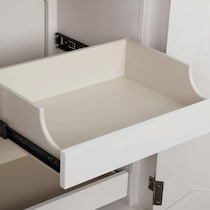 mayfair white armoire