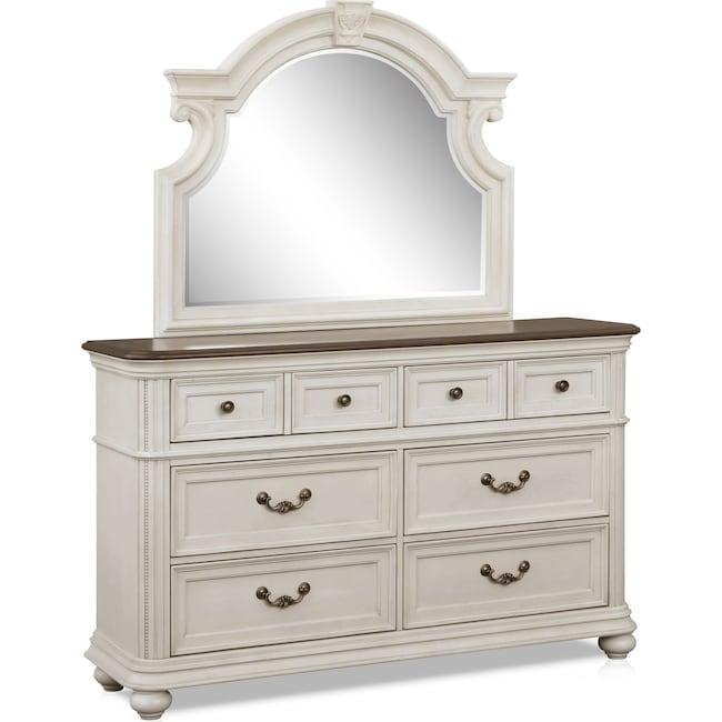 Bedroom Furniture - Mayfair Dresser and Mirror