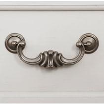 mayfair white dresser & mirror