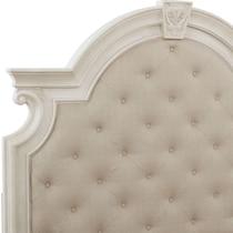 mayfair white king storage bed