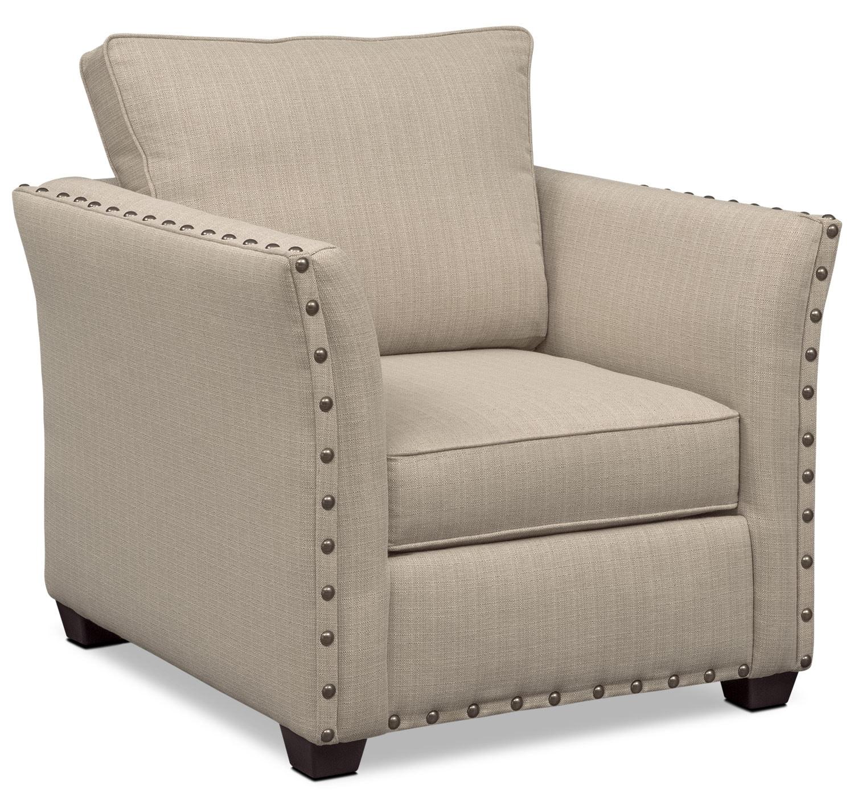 Living Room Furniture - Mckenna Chair - Sand